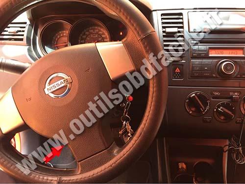 Nissan Tiida - Dashboard