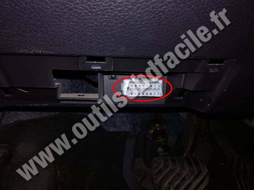 Obd2 Connector Location In Nissan X Trail 2014