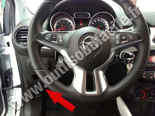 Opel Adam Dashboard