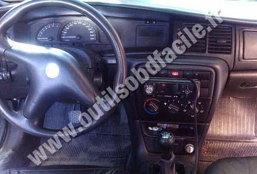 Opel Astra G dashboard
