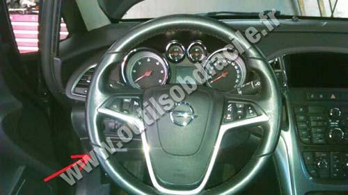 Opel Astra dashboard