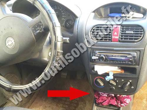 Opel Combo B Dashboard