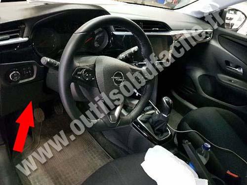 Opel Corsa F - Dashboard