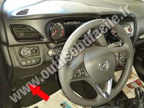 Opel Karl Dashboard