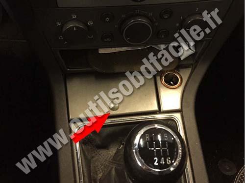 Opel Signum - Plastic hatch
