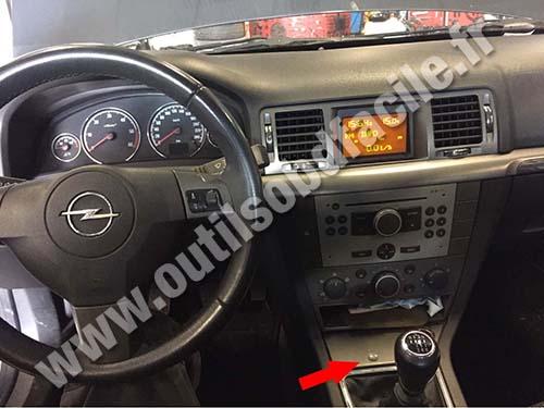 Opel Signum - Dashboard