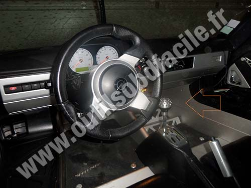 Opel Speedster dashboard