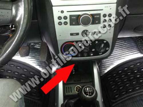 Opel Tigra Dashboard