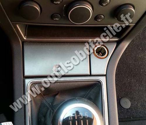 Opel Vectra C ashtray