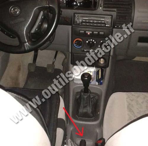 Opel Zafira dashboard