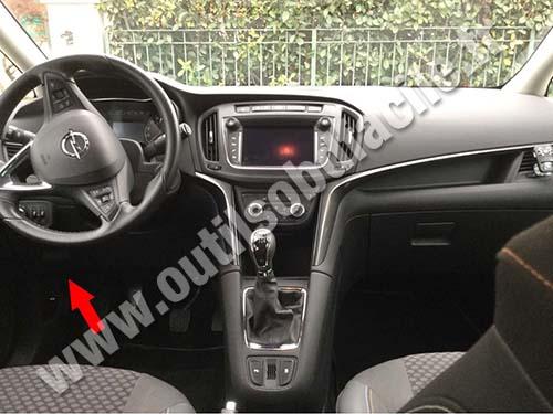 Opel Zafira C - Dashboard