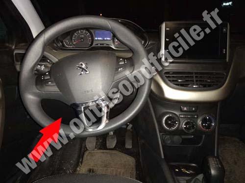 Peugeot 2008 - Dashboard