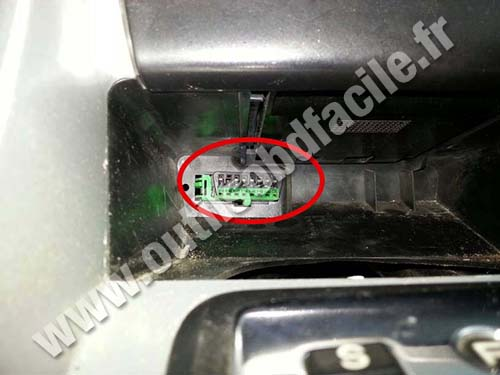 Peugeot 307 Automatic transmission OBD Connector