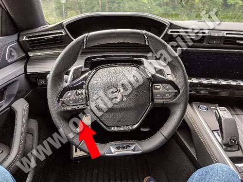 Peugeot 508 - Dashboard