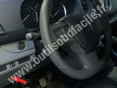 Peugeot Expert Dashboard