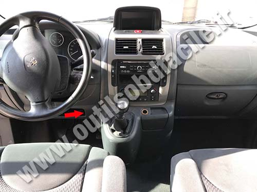 Peugeot Expert - Tepee Dashboard