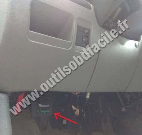 Peugeot Expert steering wheel