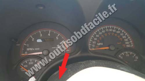 Pontiac Grand AM - Instrument panel