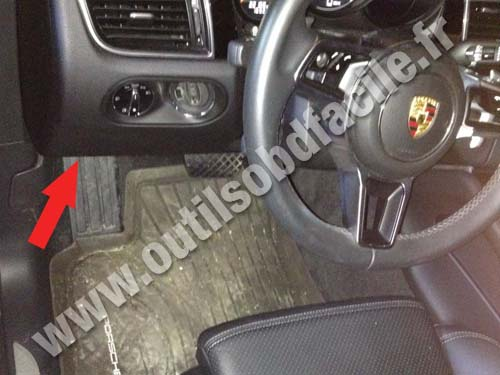 Porsche Macan (type 95B) - Dashboard