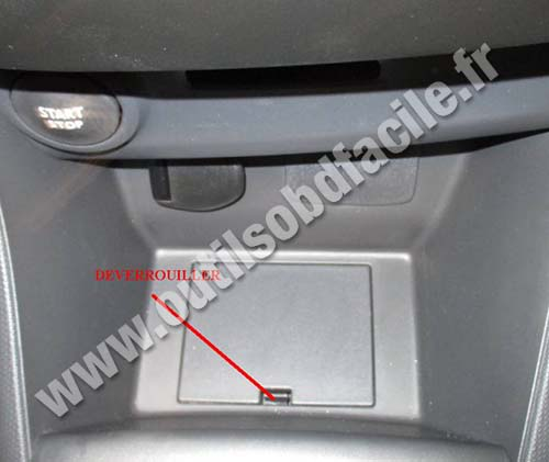 Renault Clio 4 central console