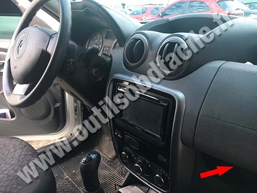 Renault Duster - Dashboard