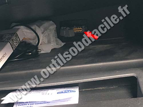 Renault Duster - Glove box