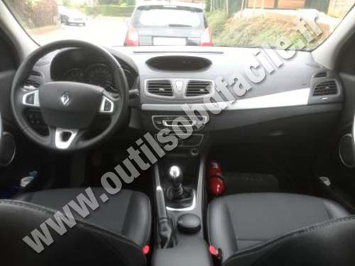 Renault Fluence dashboard