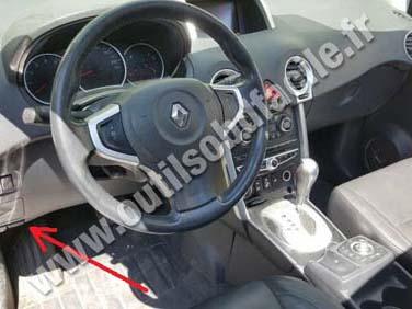 Renault Koleos 1 dashboard
