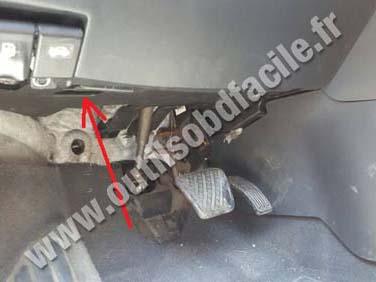 Renault Koleos 1 pedals