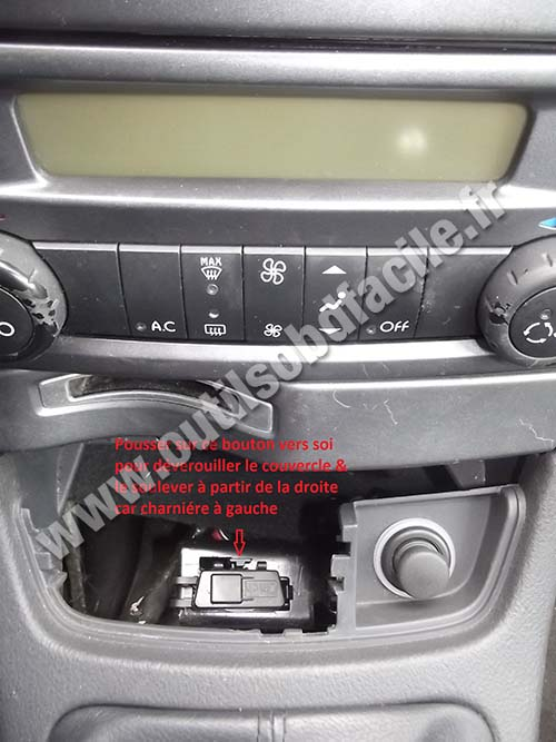 Renault Laguna 2 - Central console