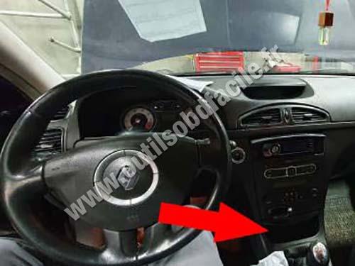 Renault Laguna 2 dashboard