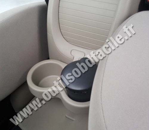 Renault Megane Scenic 2 central armrest