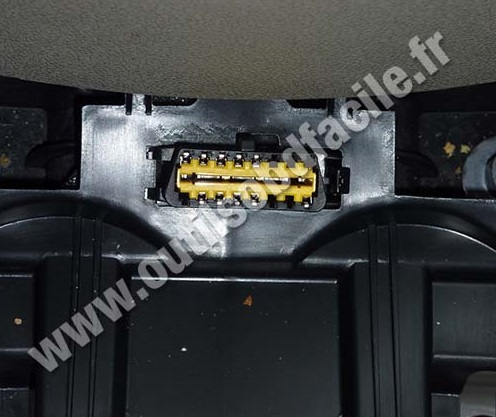 Renault Scenic 3 OBD Plug