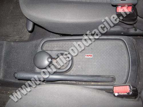 Renault Scenic front seats (no central console)