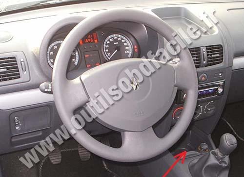 Renault Symbol dashboard