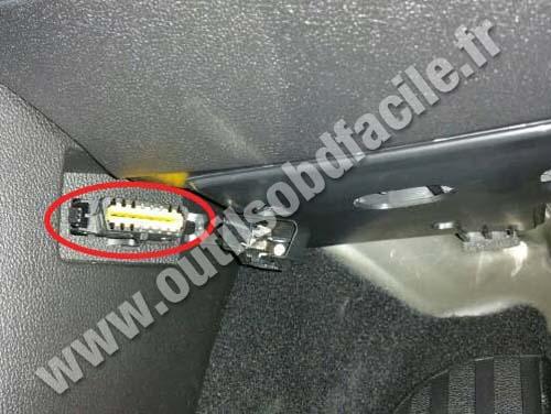 Renault Talisman - OBD Plug