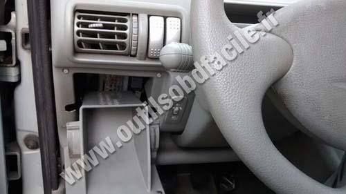 Renault Twingo 1 fuses box
