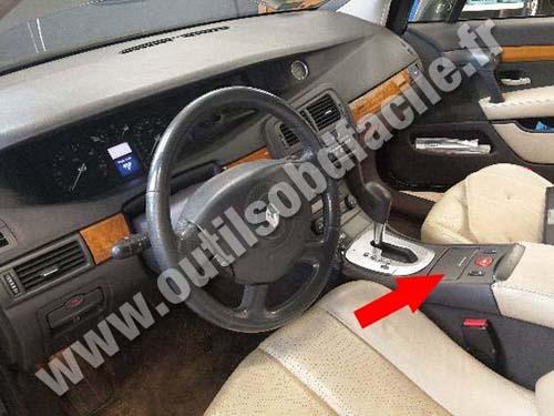 Renault Vel Satis - Dashboard