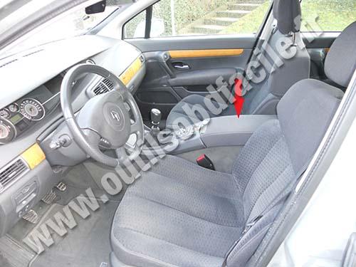 Renault Vel Satis passenger compartment