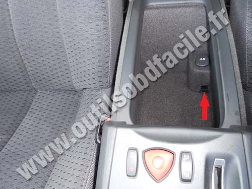 Renault Vel Satis central stowage pockets