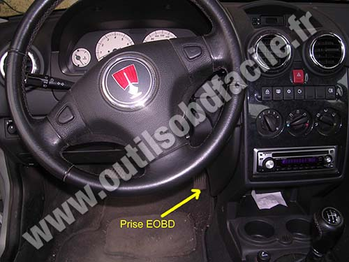 Rover 25 dashboard