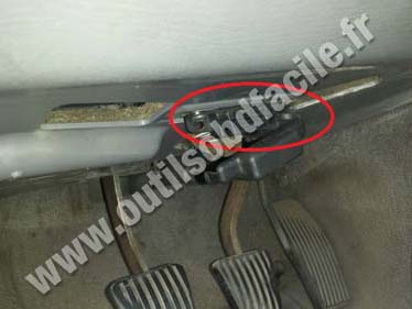 Obd2 Connector Location In Saab 900 Ng 1994 1998