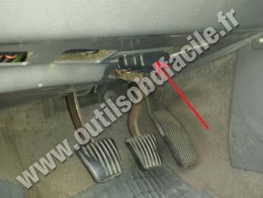 Saab 900 NG pedals