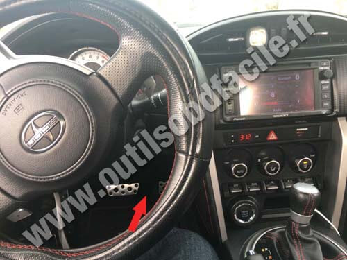 Scion Fr S Dashboard