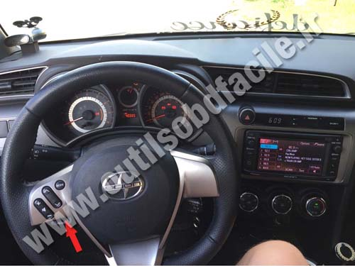 Scion tC - Dashboard