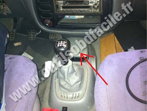 obd connector location  seat alhambra   outils obd facile