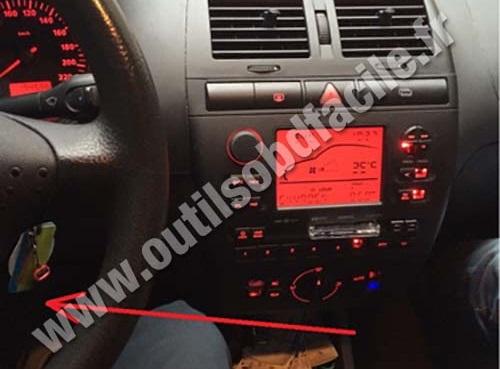 Seat Cordoba dashboard