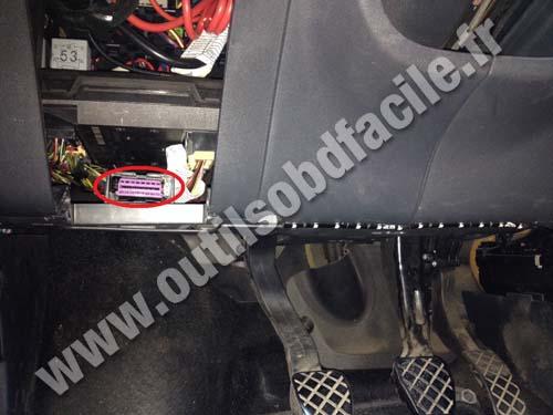 Seat Cordoba OBD plug