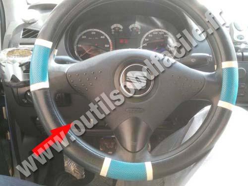Seat Ibiza 2 Dashboard