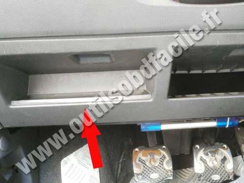 Seat Ibiza 2 Fuse compartment